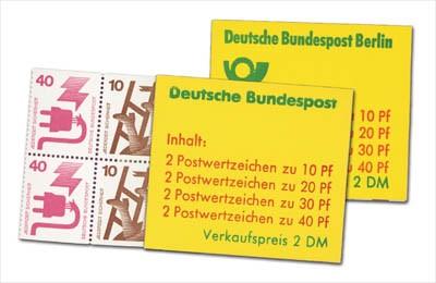 BRD/Berlin Heftchen-Set Unfallverhütung ** 2 Heftchen (MH 20 u. MH 9)
