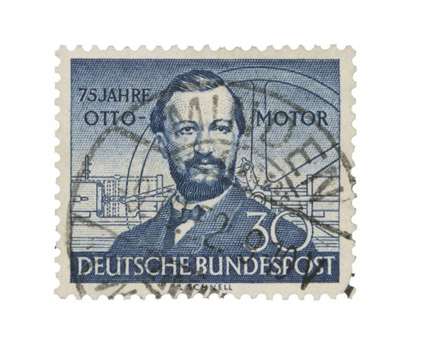 BRD MiNr. 150 o 75 J. Otto-Motor