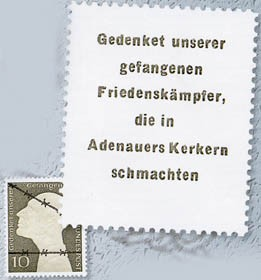 DDR Adenauermarke **