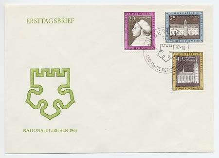 DDR FDC MiNr. 1317/19 Reformation