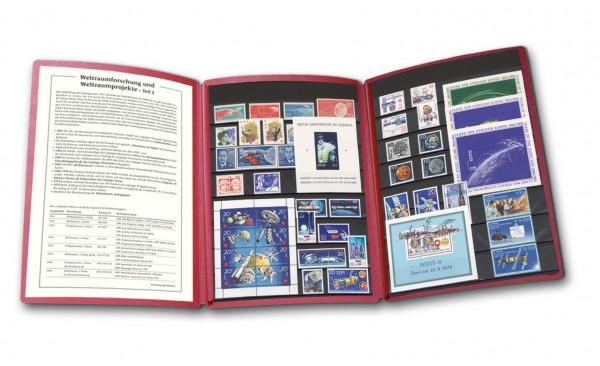 DDR - Philatelie-Edition Weltraumforschung Teil 2