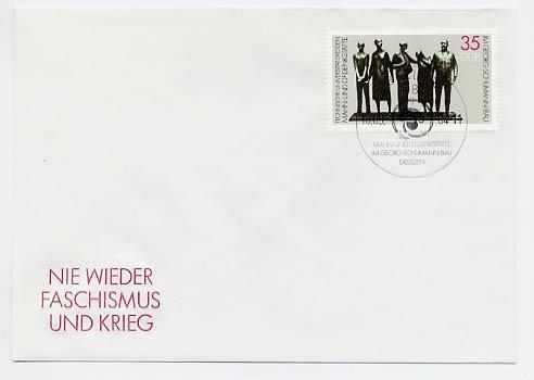 DDR FDC MiNr. 2897 Mahn-u. Gedenkst.