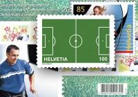 Die offiziellen EM-Briefmarken der Schweiz ** (6 Briefmarken-Ausgaben)