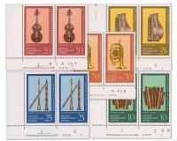DDR MiNr. 2224/2228 DV ** Musikinstrumente aus dem Vogtland