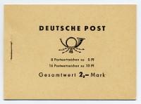 DDR MH 4c1c ** Freimarken: Ulbricht