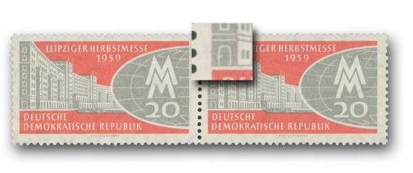 DDR MiNr. 712 F43 ** Plattenfehler
