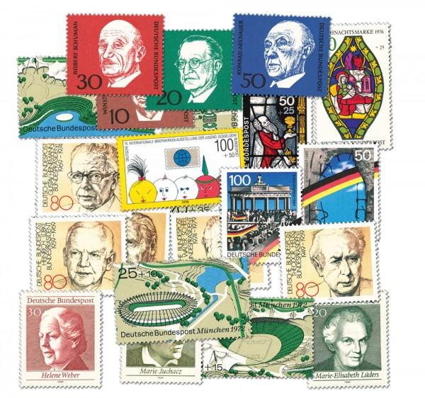 BRD 50 Briefmarken aus Block 4 - 22 **