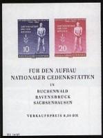 DDR Bl. 11 ** MiNr. 459/60B