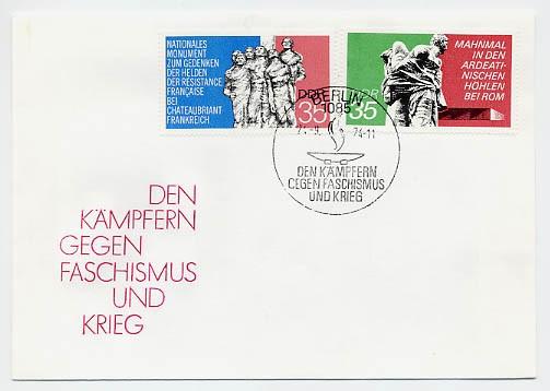 DDR FDC MiNr. 1981/82 Mahn-u. Gedenkstätten