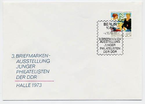 DDR FDC MiNr. 1884 Briefm. -Ausst. d. Jugend