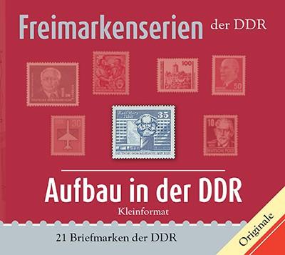 Philatelie-kompakt: Aufbau in der DDR -Kleinformat Freimarkenserien der DDR
