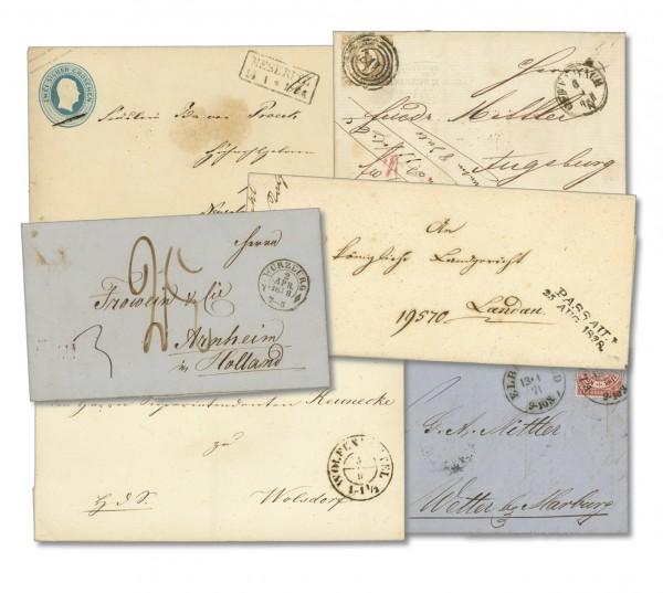 Vorphila und Briefmarkenzeit