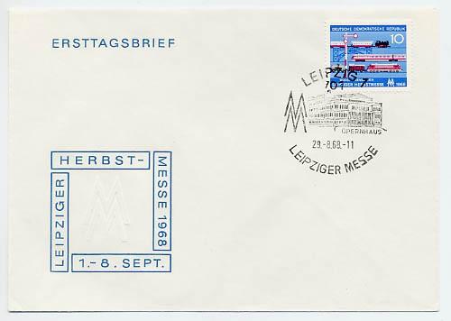 DDR FDC MiNr. 1399 LHM 1968