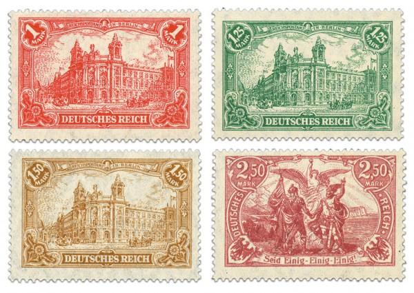 Dt. Reich MiNr. A113/15 ** FM: Darstellung des Kaiserreiches(mit Flaggen)