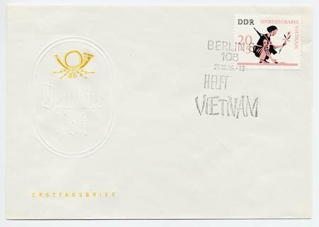 DDR FDC MiNr. 1220 Vietnam