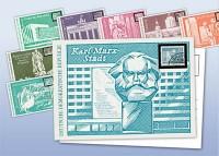 """Postkartenset """"Aufbau in der DDR"""""""