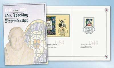 BRD Gedenkblatt 450.Todestag Luthers