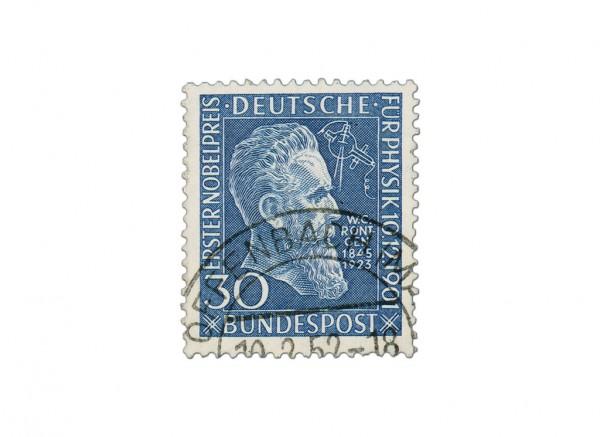 BRD MiNr. 147 o Röntgen - 50 Jahre Nobelpreisverleihung