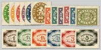 """Bayern Dienstmarken MiNr. 44/61 ** Die """"Abschiedsausgabe"""" von 1920"""