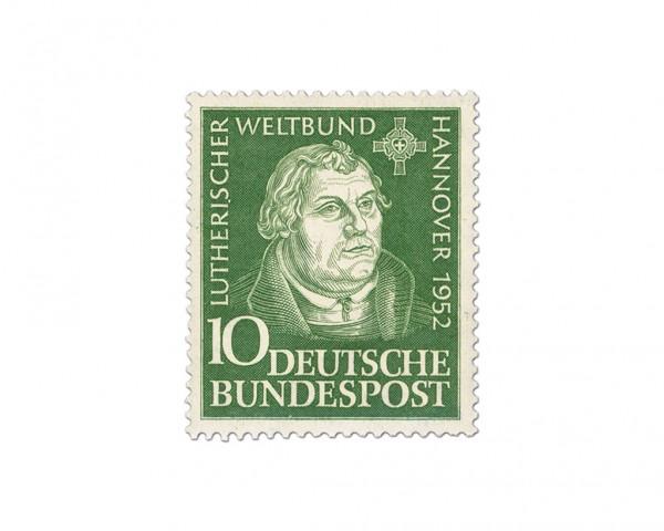 BRD MiNr. 149 ** Tagung des Lutherischen Weltbundes