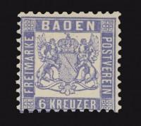 Baden MiNr. 19a **