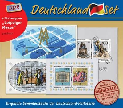 """Deutschland-Set """"Leipziger Messe"""" **"""