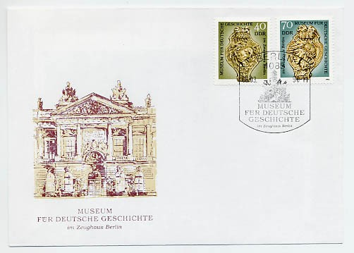 DDR FDC MiNr. 3318/19 Museum für Dt. Geschichte