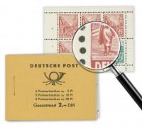 DDR MH 3b ** mit Plattenfehler