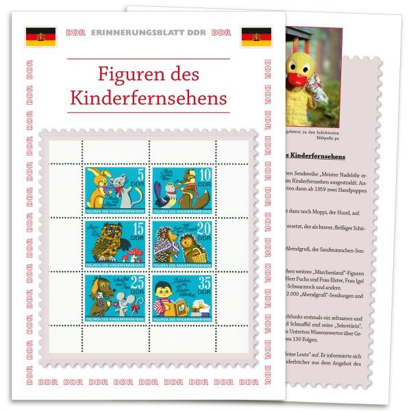 DDR Erinnerungsblatt EB02 - Kinderfernsehen d. DDR