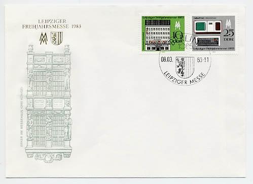 DDR FDC MiNr. 2779/80 LFM 1983