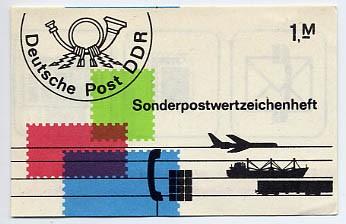 DDR SMHD 16 ** Postwertzeichen + Poststempel