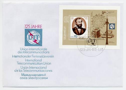 DDR FDC MiNr. 3336 Block 101 125 J. UIT