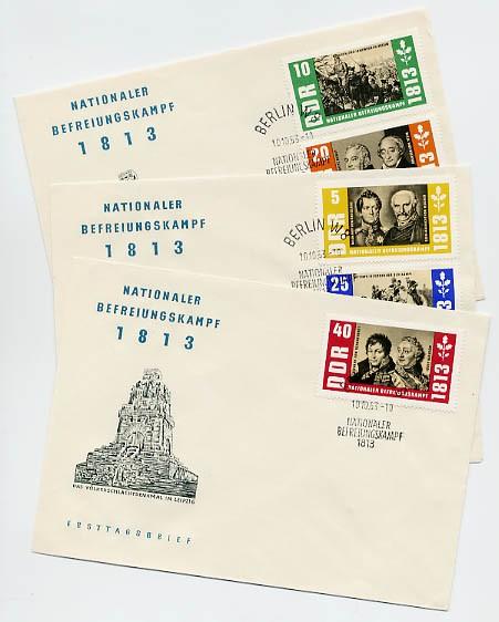 DDR FDC MiNr. 988/92 Nat. Befreiungskampf