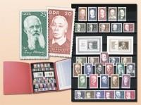 """DDR - Philatelie Edition """"Berühmte Persönlichkeiten"""""""