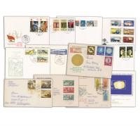 DDR 50 Briefe u. Belege  aus Bedarfspost
