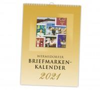 Wermsdorfer Briefmarken-Kalender 2021