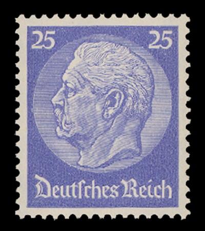 Dt. Reich MiNr. 522b ** geprüft