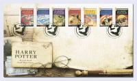 Großbritannien Harry Potter Zdr.  auf Ersttagsbrief