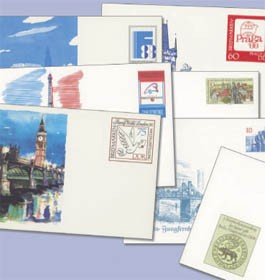 DDR 25 versch. Postkarten-Ganzsachen **