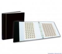 Zubehör Bogen-Album schwarz, 4-Ring-Mechanik