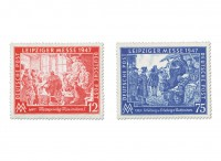 All.Bes.GA MiNr. 965/66 ** Leipziger Herbstmesse 1947