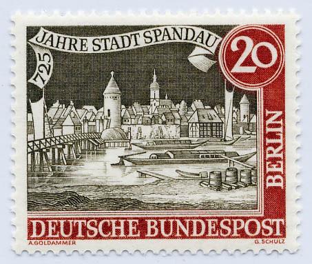 Berlin MiNr. 159 ** 725 Jahre Stadt Spandau