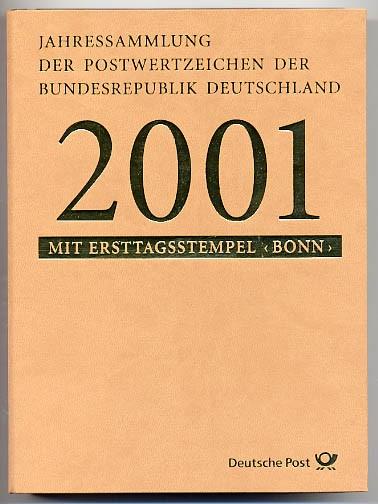 BRD Jahressammlung 2001 o
