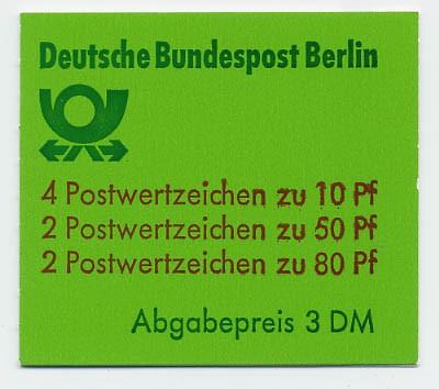 Berlin MH 13b ** Burgen und Schlösser 1982