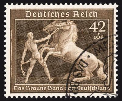 """Dt. Reich MiNr. 699 o 6. Rennen um """"Das Braune Band"""" 1939"""