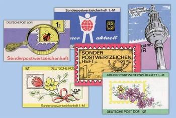 DDR 20 Sondermarkenheftchen o