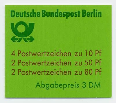 Berlin MH 13c ** Burgen und Schlösser 1982