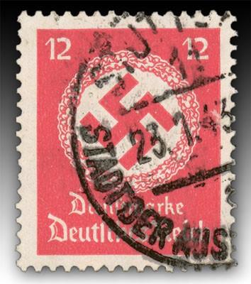 Dt. Reich Dienst MiNr. 138b o gepr. Dienstmarken für Landes-Behörden