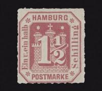 Hamburg MiNr. 21 **