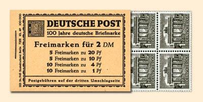 Berlin MH 1 ** Berliner Bauten, Nov.1949